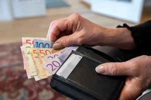 Att arbeta ska märkas i plånboken. Foto: Henrik Montgomery/TT