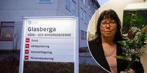 Caroline Wenner, resultatområdeschef på Södertälje kommun, menar att hon inte känner igen personalens oro för att lämna de boende på Glasberga ensamma på nätterna.