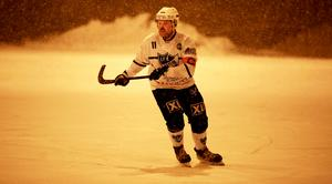 Jesper Nywertz är nöjd med hur Rättvik krigade i snöfallet.