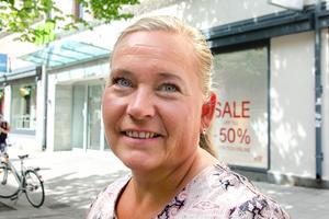 Jenny Sahlin, 40+, kommunarbetare, Sundsvall: