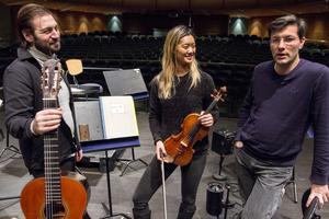 Jakob Kellermann, norska Catharina Chen, och dirigent Christian Karlsen.