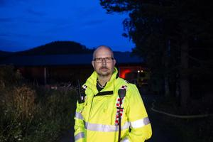 Erik Englund, räddningsledare.
