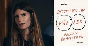 Helena Granström är författare, skribent och har även en magisterexamen i teoretisk fysik och en licentiatexamen i matematisk fysik. Foto: Viktor Gårdsäter