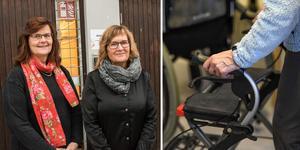 Om bara ett par år beräknas antalet personer som är 80 år eller äldre ha ökat med 35 procent i Smedjebacken. Solveig Bodare och Lena Eriksson ska tillsammans se till att de mår så bra som möjligt.