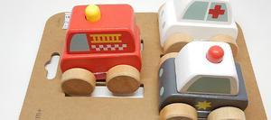 Här är leksaksbilarna som återkallas. FOTO: Pressbild.