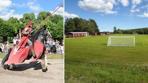 16-17 juni kastats Släda IP tillbaka i tiden till en medeltidsmarknad och tornerspel. Bild: Nordic Knights och ST arkiv