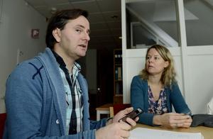 Mats och Miek Jong ansvarar för Mittuniversitetets del av studien. De samarbetar med lärosäten i Tyskland och Nederländerna.