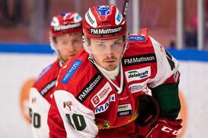 Jesper Ylivainio gjorde sitt första Moramål mot SSK. Foto: Daniel Eriksson / BILDBYRÅN