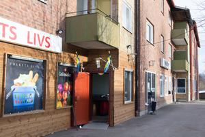 Mejerigatan i Krylbo har fått en mataffär i lokaler som Nya Byn tidigare använde sig av.