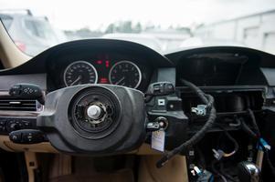 Airbags är eftertraktade på den svarta marknaden.Foto: Izabelle Nordfjell / TT