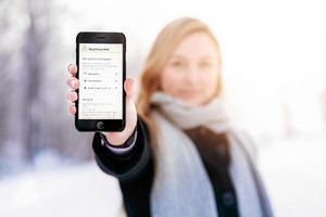 Många i Dalarna valde att deklarera elektroniskt i år, bland annat via Skatteverkets app.