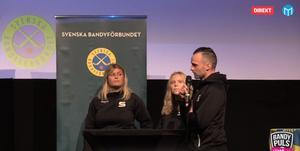 Michelle Löfblad, Nelly Hedlund och Patrik Allansson.
