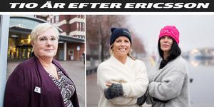 Cathrin Dahlström och Sanna och Mia Nordmark minns alla den lärorika tiden på Ericsson med värme.