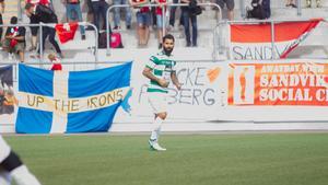 Stefan Batan under matchen mot Sandviken.