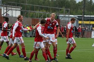 Mål igen! Denna gång Emil Engqvist.