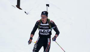 Henning Sjökvist kände sig pigg och hade gärna fått chansen att avgöra tävlingen av egen kraft.