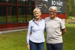 Kerstin och Klas Boman har bott på gården i snart 40 år.