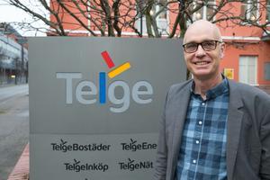 Håkan Karlsson, vd för Telge nät, berättar att grundvattennivåerna i Södertäljes magasin ser bra ut.