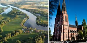 Dalälven kan komma att dras till Uppsala. Foto: Bengt Calles, Pontus Lundahl/TT