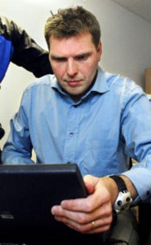 Torbjörn Ull treder IT-brott vid Sundsvallspolisen.