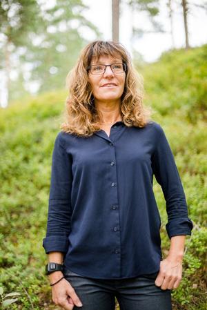 Rektor Anneli Gunnars, Älvdalens utbildningscentrum. Foto: Privat.