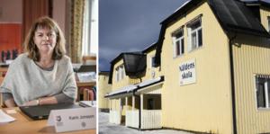 Alla partier står bakom förslaget att utreda frågan om en ny skola, berättar Krokoms kommunalråd Karin Jonsson (C).