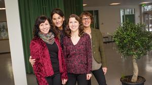 Gruppen bakom initiativet: Sofie Ahlholm, TiNK, Martina Persson-Sandin och Karin Avellan-Hultman, Attention Roslagen, samt Helena Walukiewicz, barn- och utbildningskontoret och centrala barn- och elevhälsan.