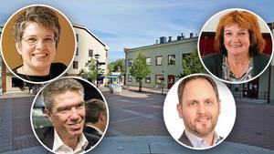 Åsa Sjödén (S), Ingemar Nilsson (S), Kerstin Franzén (M) och Jörgen Berglund (M) ska debattera live från Orrtorget i Sollefteå med start klockan 12.00.
