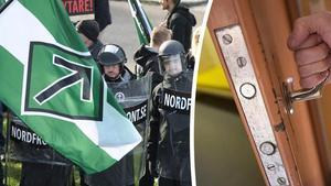 Under en  säkerhetskontroll av en arrestvakt har det visat sig att denne hade samröre med Nordiska motståndsrörelsen.
