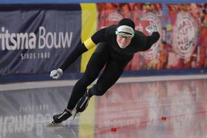 Adam Axelsson har inte gått en skridskotävling på snart ett år. Arkivfoto