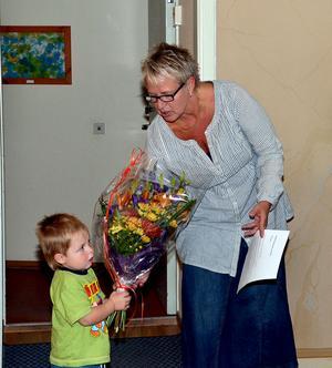 Tre generationer Lindgren var inblandade i fullmäktiges