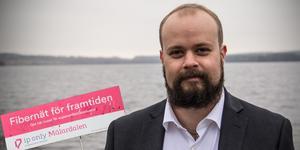 Karl-Eddie Brattgjerd, kommunansvarig i Västmanland för IP-Only.