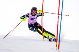 Anna Swenn-Larsson slutade trea i Killington. Bild: Sportbild.