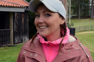 Med tre säsonger bakom sig börjar Hanna Hedlund känna sig hemma som Brus Britta.