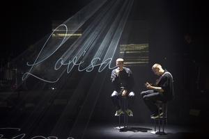 Felix Sandman och gitarristen Gustav Jonsson gjorde en akustisk version av