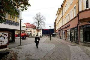 Borlänge centrum. Foto: Jonas Stentäpp