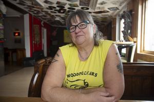 Lisa Fahlström är ordförande i klubben Woodpeckers, en förening för motorintresserade som funnit i Gävle sedan 1958.