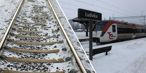 Tills vidare går tågtrafiken som vanligt genom tunneln mot Ludvika, men lagom till påsk nästa år kommer all tågtrafik på sträckan att stängas av.