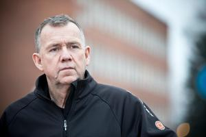 Avdelningschef Tomas Fransson vid brandkåren i Arboga ser inga problem med anmärkningarna från Arbetsmiljöverket.(Foto: Lennye Osbeck)