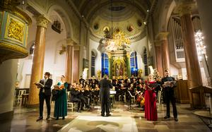 Bild från konsert i domkyrkan i december i fjol.