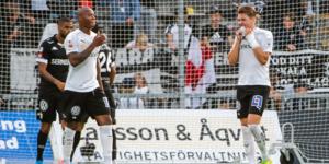 Martin Broberg missade straff när ÖSK jagade reducering. Foto: Fredrik Karlsson/BILDBYRÅN