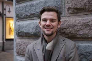 Marcus Larsson, 23 år, student, Sundsvall.