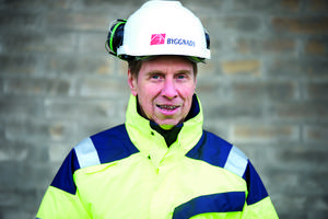 Tomas Emanuelsson, ordförande Byggnads region Väst, svarar Byggföretagen i Skaraborg. Foto: Pressbild