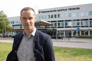 Regionrådet i opposition, Mikael Andersson Elfgren (M).