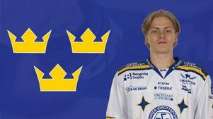 Wille Bärehag går hockeygymnasiet i Leksand. Foto: Leksands IF