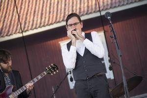 Filip Jers Quartet spelade på fredagen.