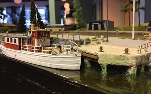 Även båtar får plats.