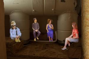 Ett tjugotal olika personer ingår i utställningen. De presenteras också i en bok. Foto: pressbild