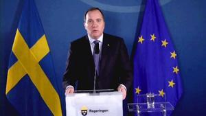 Stefan Löfvens tal var fint. Foto: TT