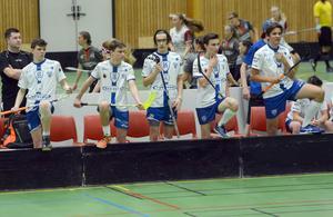 Floorball Chodovs pojkar födda 01 är ett av många tjeckiska lag i årets Jalas floorball cup.